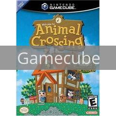 Image of Animal Crossing original video game for Gamecube classic game system. Rocket City Arcade, Huntsville Al. We ship used video games Nationwide