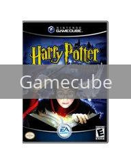 Image of Harry Potter Sorcerers Stone original video game for Gamecube classic game system. Rocket City Arcade, Huntsville Al. We ship used video games Nationwide