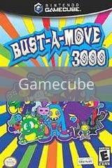 Image of Bust-A-Move 3000 original video game for Gamecube classic game system. Rocket City Arcade, Huntsville Al. We ship used video games Nationwide