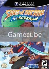 Image of Skies of Arcadia original video game for Gamecube classic game system. Rocket City Arcade, Huntsville Al. We ship used video games Nationwide