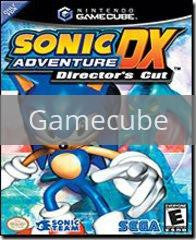 Image of Sonic Adventure DX original video game for Gamecube classic game system. Rocket City Arcade, Huntsville Al. We ship used video games Nationwide