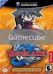 Image of Beyblade V Force original video game for Gamecube classic game system. Rocket City Arcade, Huntsville Al. We ship used video games Nationwide