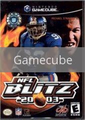Image of NFL Blitz 2003 original video game for Gamecube classic game system. Rocket City Arcade, Huntsville Al. We ship used video games Nationwide