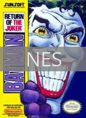 Image of Batman: Return of the Joker original video game for NES classic game system. Rocket City Arcade, Huntsville Al. We ship used video games Nationwide