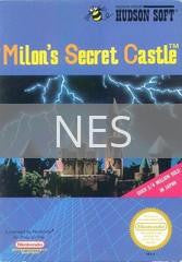 Image of Milon's Secret Castle original video game for NES classic game system. Rocket City Arcade, Huntsville Al. We ship used video games Nationwide