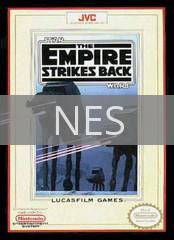 Image of Star Wars The Empire Strikes Back original video game for NES classic game system. Rocket City Arcade, Huntsville Al. We ship used video games Nationwide