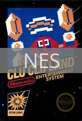 Image of Clu Clu Land original video game for NES classic game system. Rocket City Arcade, Huntsville Al. We ship used video games Nationwide