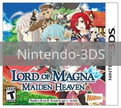 Image of Lord of Magna: Maiden Heaven original video game for Nintendo 3DS classic game system. Rocket City Arcade, Huntsville Al. We ship used video games Nationwide