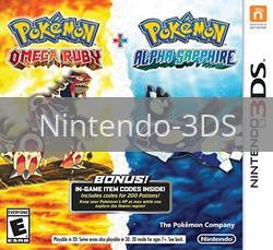 Pokemon Omega Ruby & Alpha Sapphire Dual Pack