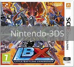 Image of LBX: Little Battlers Experience original video game for Nintendo 3DS classic game system. Rocket City Arcade, Huntsville Al. We ship used video games Nationwide