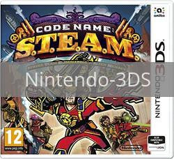 Image of Code Name: S.T.E.A.M. original video game for Nintendo 3DS classic game system. Rocket City Arcade, Huntsville Al. We ship used video games Nationwide