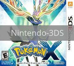 Image of Pokemon X original video game for Nintendo 3DS classic game system. Rocket City Arcade, Huntsville Al. We ship used video games Nationwide