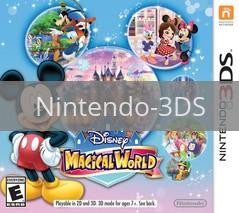 Image of Disney Magical World original video game for Nintendo 3DS classic game system. Rocket City Arcade, Huntsville Al. We ship used video games Nationwide