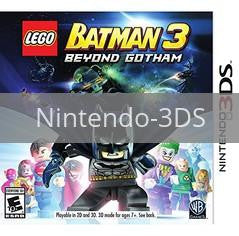 Image of LEGO Batman 3: Beyond Gotham original video game for Nintendo 3DS classic game system. Rocket City Arcade, Huntsville Al. We ship used video games Nationwide