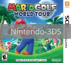 Image of Mario Golf: World Tour original video game for Nintendo 3DS classic game system. Rocket City Arcade, Huntsville Al. We ship used video games Nationwide