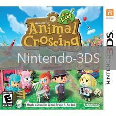Image of Animal Crossing: New Leaf original video game for Nintendo 3DS classic game system. Rocket City Arcade, Huntsville Al. We ship used video games Nationwide