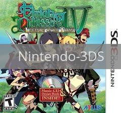 Image of Etrian Odyssey IV: Legends Of The Titan original video game for Nintendo 3DS classic game system. Rocket City Arcade, Huntsville Al. We ship used video games Nationwide