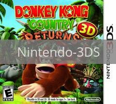 Image of Donkey Kong Country Returns 3D original video game for Nintendo 3DS classic game system. Rocket City Arcade, Huntsville Al. We ship used video games Nationwide