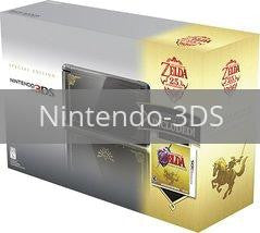 Nintendo 3DS Black Zelda Limited Edition