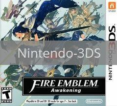 Image of Fire Emblem: Awakening original video game for Nintendo 3DS classic game system. Rocket City Arcade, Huntsville Al. We ship used video games Nationwide