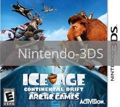 Image of Ice Age: Continental Drift Arctic Games original video game for Nintendo 3DS classic game system. Rocket City Arcade, Huntsville Al. We ship used video games Nationwide