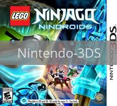 Image of LEGO Ninjago: Nindroids original video game for Nintendo 3DS classic game system. Rocket City Arcade, Huntsville Al. We ship used video games Nationwide