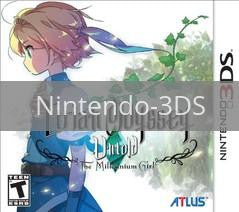 Image of Etrian Odyssey Untold: The Millennium Girl original video game for Nintendo 3DS classic game system. Rocket City Arcade, Huntsville Al. We ship used video games Nationwide