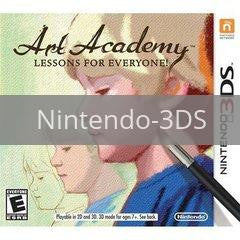 Image of Art Academy: Lessons for Everyone original video game for Nintendo 3DS classic game system. Rocket City Arcade, Huntsville Al. We ship used video games Nationwide