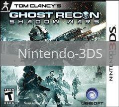Image of Ghost Recon: Shadow Wars original video game for Nintendo 3DS classic game system. Rocket City Arcade, Huntsville Al. We ship used video games Nationwide