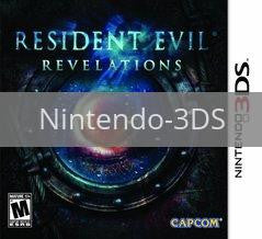Image of Resident Evil: Revelations original video game for Nintendo 3DS classic game system. Rocket City Arcade, Huntsville Al. We ship used video games Nationwide