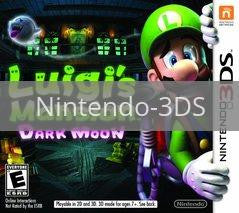 Image of Luigi's Mansion: Dark Moon original video game for Nintendo 3DS classic game system. Rocket City Arcade, Huntsville Al. We ship used video games Nationwide