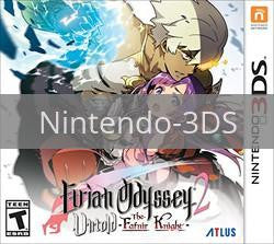 Image of Etrian Odyssey 2 Untold: The Fafnir Knight original video game for Nintendo 3DS classic game system. Rocket City Arcade, Huntsville Al. We ship used video games Nationwide