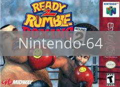 Image of Ready 2 Rumble Round 2 original video game for Nintendo 64 classic game system. Rocket City Arcade, Huntsville Al. We ship used video games Nationwide