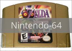 Zelda Majora's Mask Not for Resale Gold