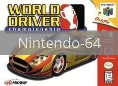 Image of World Driver Championship original video game for Nintendo 64 classic game system. Rocket City Arcade, Huntsville Al. We ship used video games Nationwide