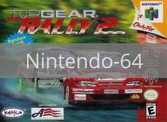 Image of Top Gear Rally 2 original video game for Nintendo 64 classic game system. Rocket City Arcade, Huntsville Al. We ship used video games Nationwide