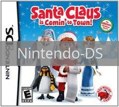 Image of Santa Claus Is Coming To Town original video game for Nintendo DS classic game system. Rocket City Arcade, Huntsville Al. We ship used video games Nationwide