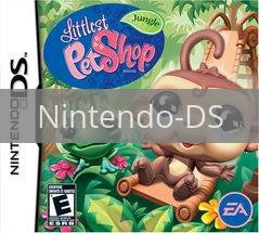 Image of Littlest Pet Shop Jungle original video game for Nintendo DS classic game system. Rocket City Arcade, Huntsville Al. We ship used video games Nationwide