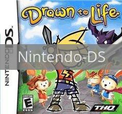 Image of Drawn to Life original video game for Nintendo DS classic game system. Rocket City Arcade, Huntsville Al. We ship used video games Nationwide