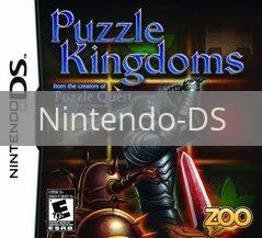 Image of Puzzle Kingdoms original video game for Nintendo DS classic game system. Rocket City Arcade, Huntsville Al. We ship used video games Nationwide