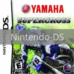 Image of Yamaha Supercross original video game for Nintendo DS classic game system. Rocket City Arcade, Huntsville Al. We ship used video games Nationwide