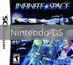 Image of Infinite Space original video game for Nintendo DS classic game system. Rocket City Arcade, Huntsville Al. We ship used video games Nationwide