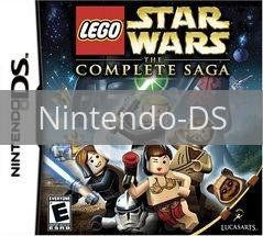 Image of LEGO Star Wars Complete Saga original video game for Nintendo DS classic game system. Rocket City Arcade, Huntsville Al. We ship used video games Nationwide