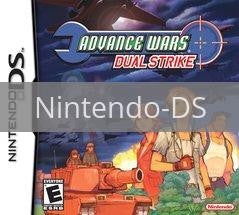 Image of Advance Wars Dual Strike original video game for Nintendo DS classic game system. Rocket City Arcade, Huntsville Al. We ship used video games Nationwide