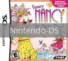 Image of Fancy Nancy: Tea Party Time original video game for Nintendo DS classic game system. Rocket City Arcade, Huntsville Al. We ship used video games Nationwide