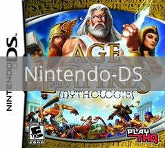 Image of Age of Empires Mythologies original video game for Nintendo DS classic game system. Rocket City Arcade, Huntsville Al. We ship used video games Nationwide