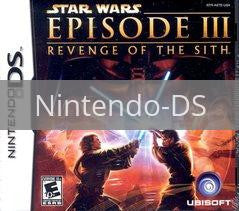 Image of Star Wars Revenge of the Sith original video game for Nintendo DS classic game system. Rocket City Arcade, Huntsville Al. We ship used video games Nationwide