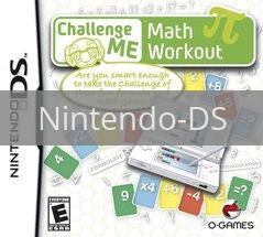 Image of Challenge Me: Math Workout original video game for Nintendo DS classic game system. Rocket City Arcade, Huntsville Al. We ship used video games Nationwide