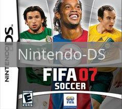 Image of FIFA 2007 original video game for Nintendo DS classic game system. Rocket City Arcade, Huntsville Al. We ship used video games Nationwide