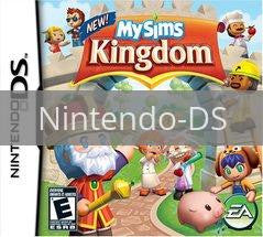 Image of MySims Kingdom original video game for Nintendo DS classic game system. Rocket City Arcade, Huntsville Al. We ship used video games Nationwide